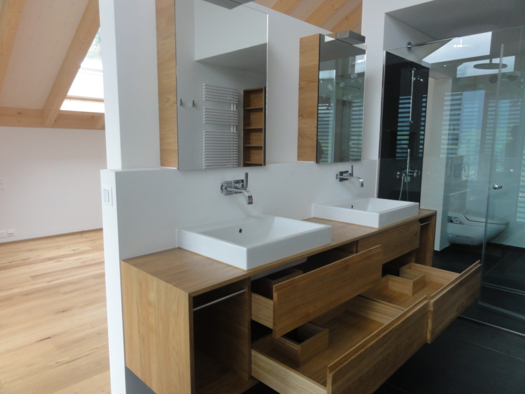 badezimmer holzm bel. Black Bedroom Furniture Sets. Home Design Ideas