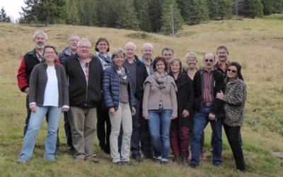 Gruppenfoto Schwander Gwärb