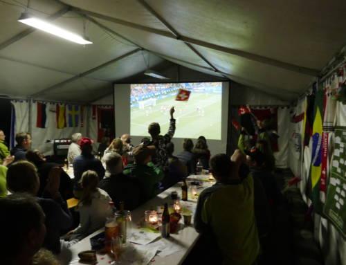 WM Live i d'r Schwendi – ein gelungener Start!