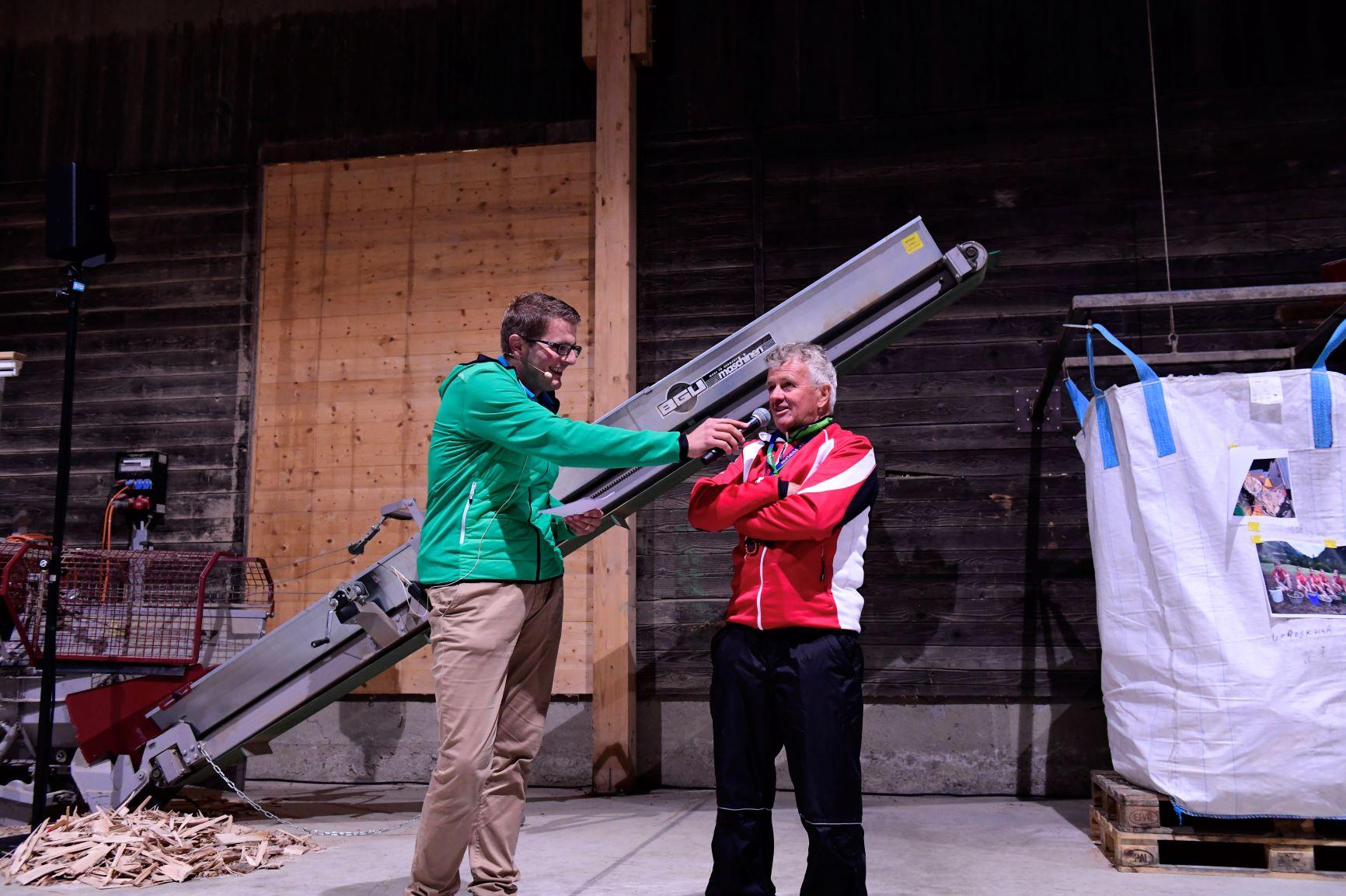 Schwander Gwärb ist Namenspatron der Biathlon Trainingsanlage im Pfedli in Giswil